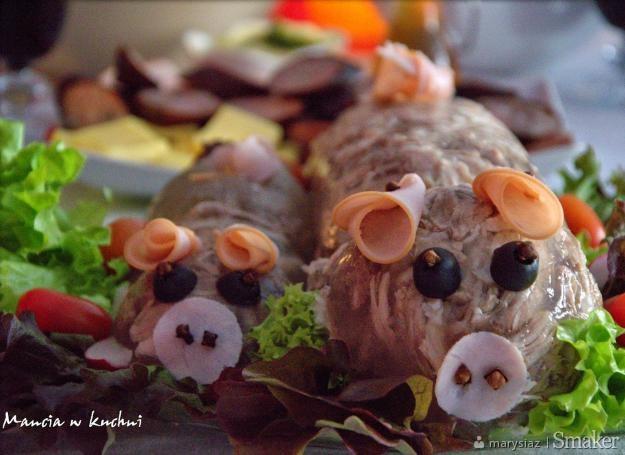 Galareta wieprzowa - świnka