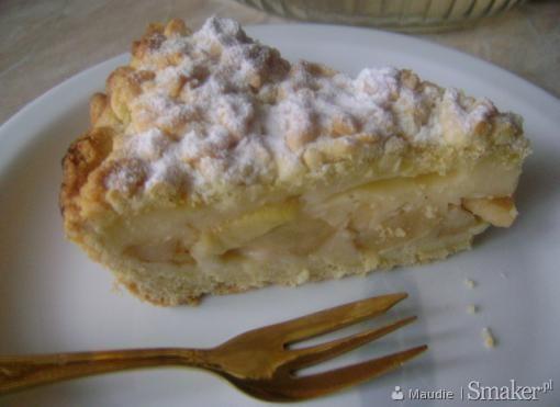 Szybkie Ciasto z Jabłkami i Budyniem Ciasto z Budyniem i Jabłkami