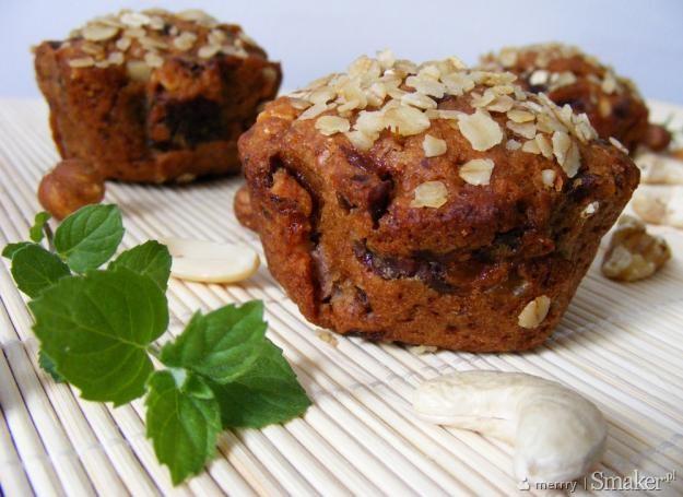 Śliwkowo-orzechowe muffiny. Kliknij!