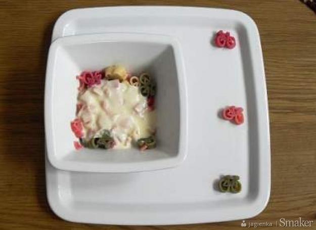 Zachęcający obiad dla dziecka