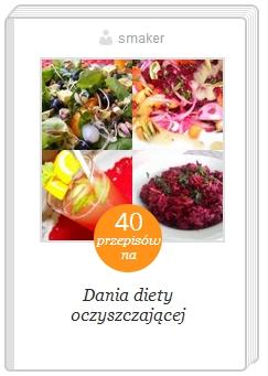 ksiązka kucharska przepisy diety oczyszczającej
