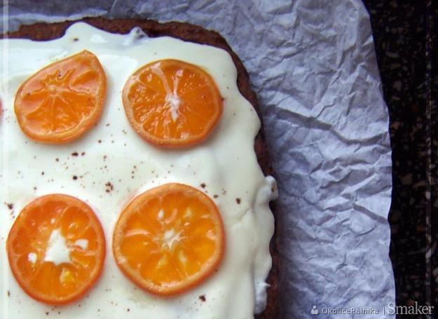 Ciasto marchewkowe z mandarynkami. Kliknij!