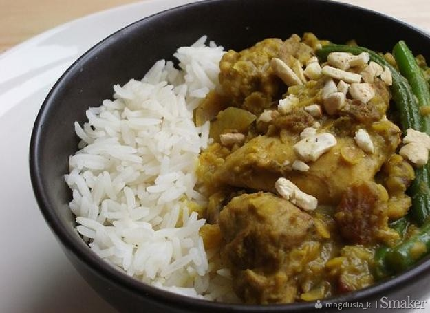 Curry z kurczaka. Kliknij!