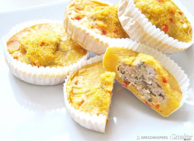 Muffinki z papryką po teksańsku