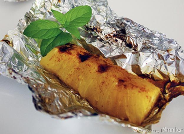 Grillowany ananas. Kliknij!