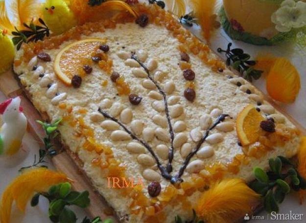 Mazurek migdałowo-pomarańczowy. Kliknij!