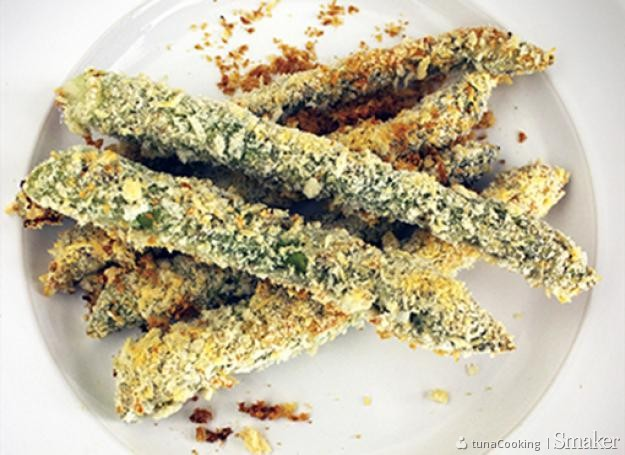 Chrupiące pieczone szparagi