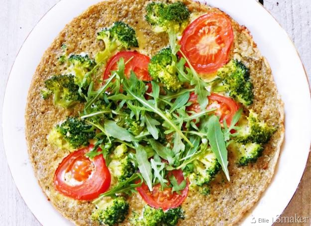 Omlet brokułowy