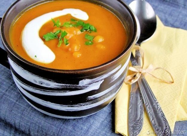 Marokańska zupa dyniowa. Kliknij!