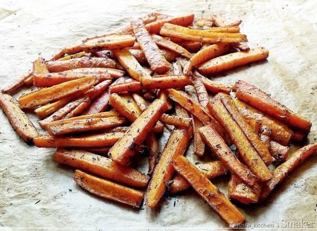 Frytki z marchewki. Kliknij!