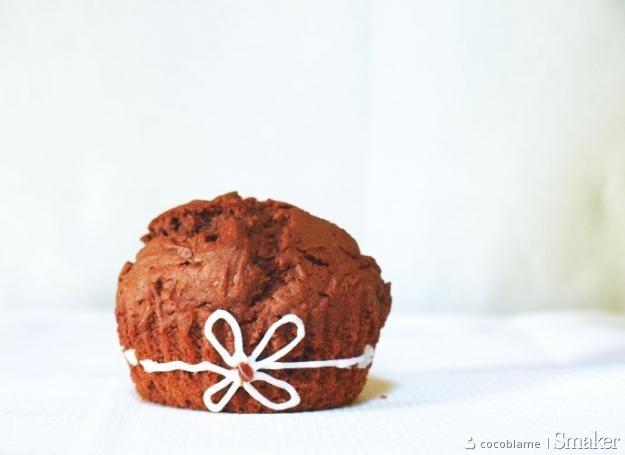 Muffinki potrójnie czekoladowe. Kliknij!