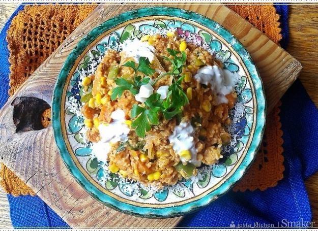 Kurczak tikka masala z ryżem