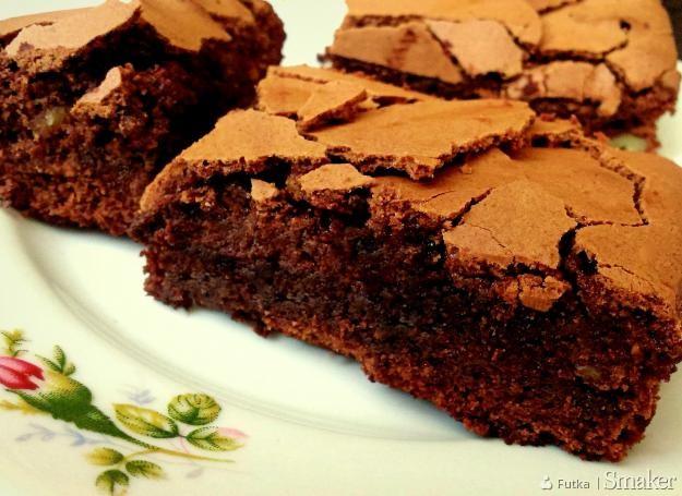 Bezglutenowe brownie z ksylitolem