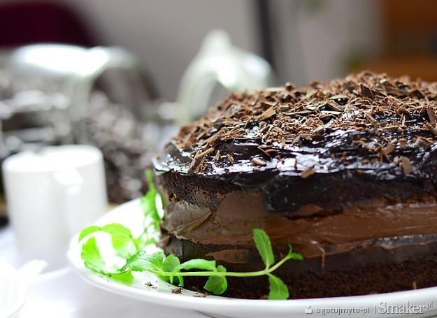 Ciasto poczwórnie czekoladowe. Kliknij!
