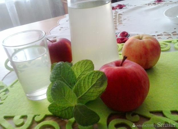 Kompot jabłkowo - miętowy