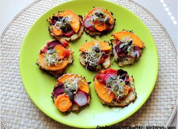 Warzywne pizzerniki z kalafiora
