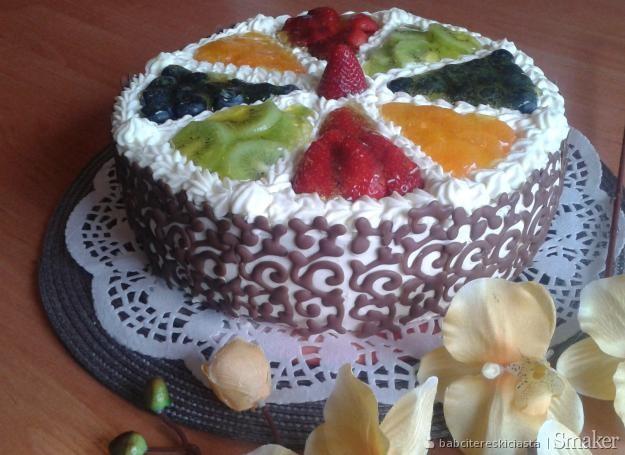 Ozdabianie Tortu Owocami Przepisy Jak Zrobić Smakerpl