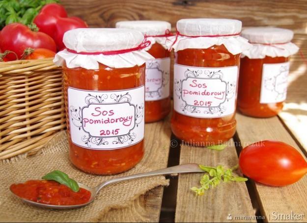 Sos pomidorowy do słoików