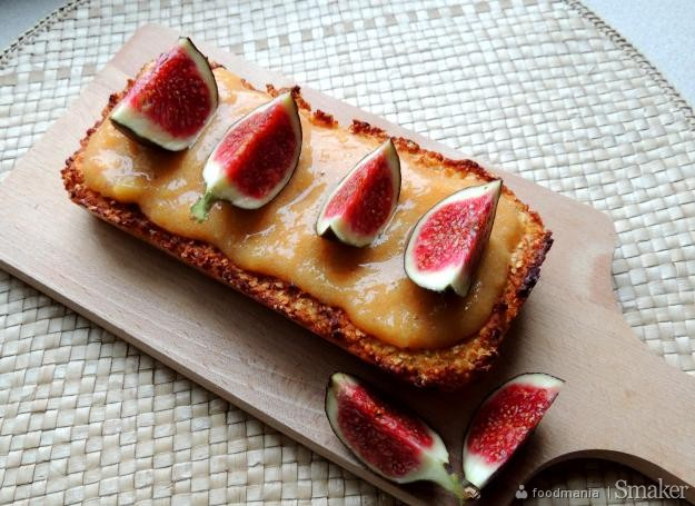 Ciasto jaglane z figami