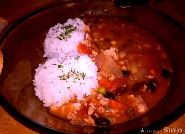 Zupa Meksykanska Z Miesem Mielonym