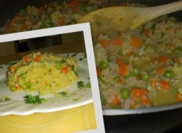Warzywne risotto