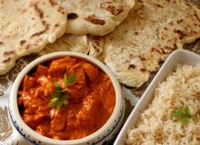 Butter Chicken z chlebkiem Naan