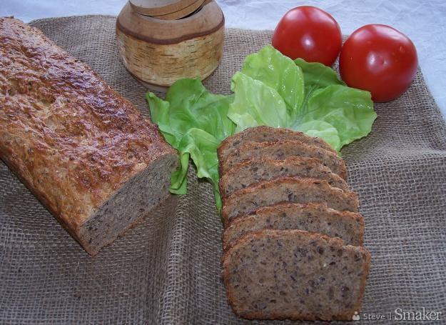 Orkiszowy Chleb Z Siemieniem Lnianym