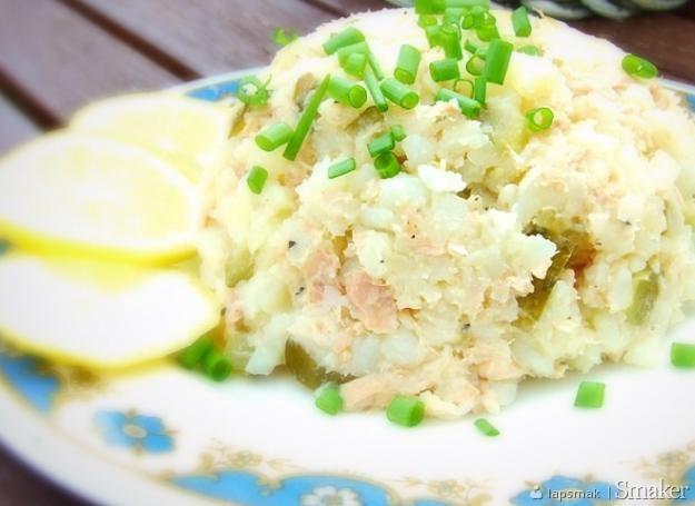Sałatka z młodych ziemniaków z tuńczykiem
