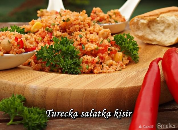 Turecka Sałatka Kisir