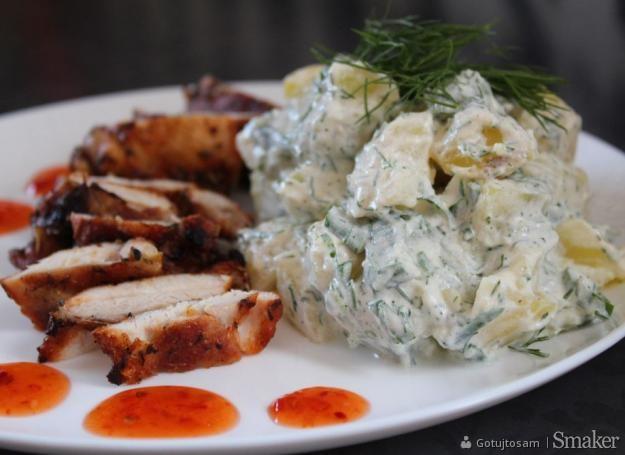 Niemiecka Salatka Ziemniaczana Do Grilla Przepisy Jak Zrobic