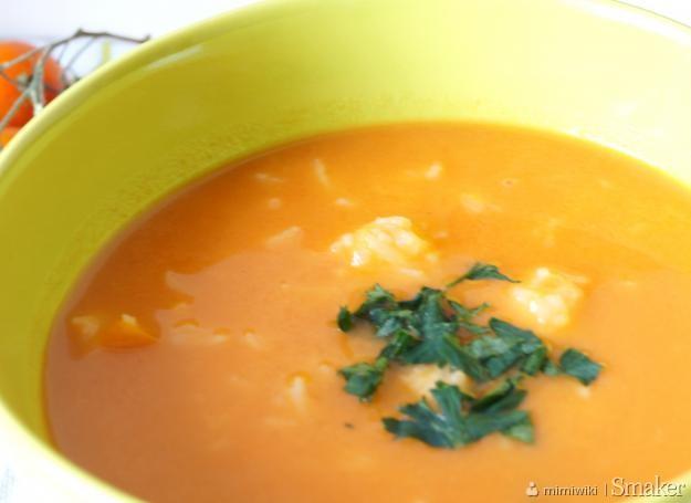Kremowa Zupa Pomidorowa Z Ryżem Przepis Ze Smakerpl