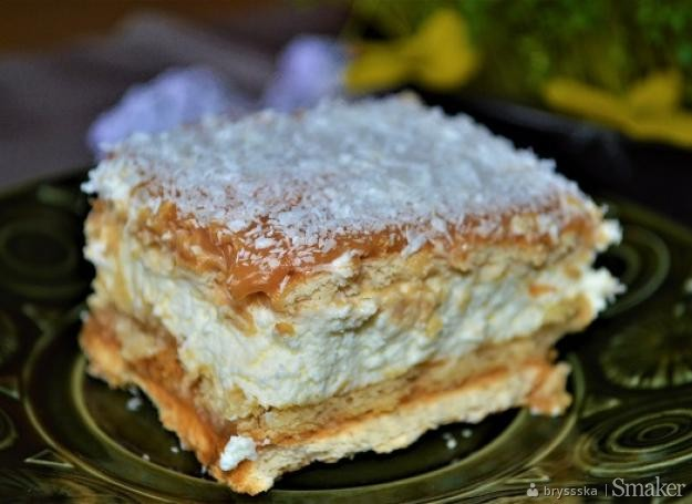 Ciasto Krowka Bez Pieczenia Na Herbatnikach Moje Gotowanie Przepisy