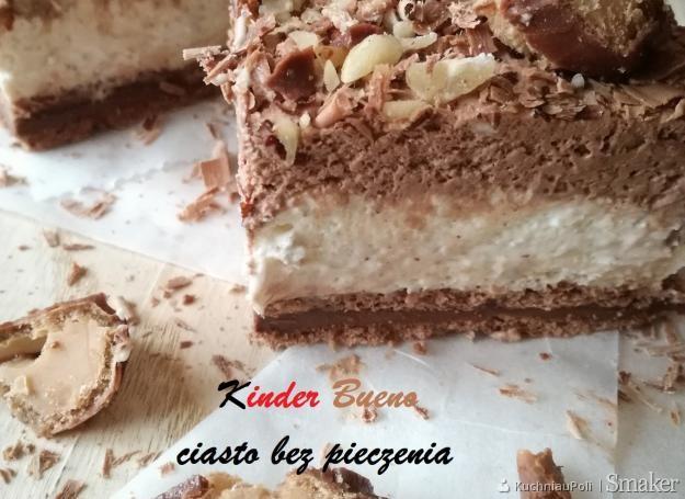 Ciasto Kinder Cantry Kuchnia Renaty Przepisy Jak Zrobić