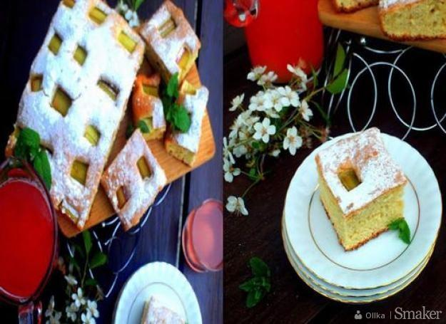 Ciasto Z Rabarbarem Dietetyczne Przepisy Jak Zrobic Smaker Pl