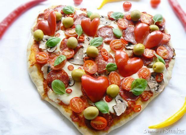 Romantyczna pizza