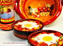 Flamenco eggs