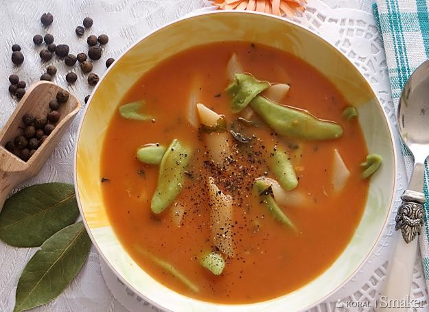 Zupa Pomidorowa Z Kuchni Polskiej