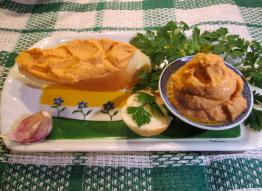 Hummus do pieczywa