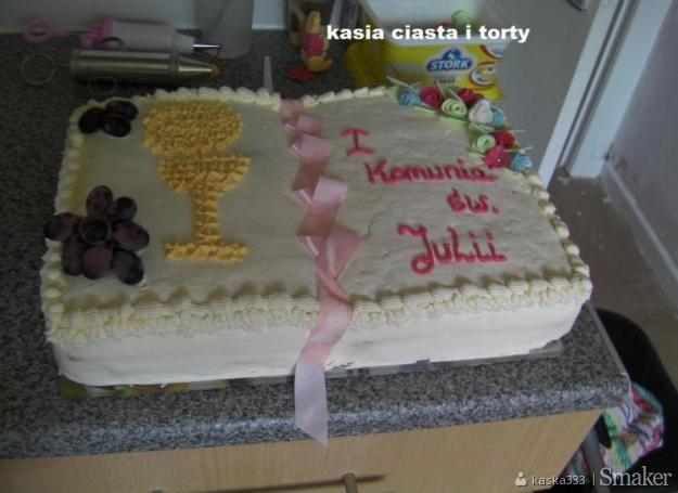 9feff181526799 torty piętrowe na komunie: Przepisy, jak zrobić - Smaker.pl