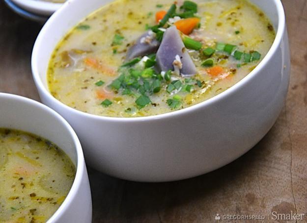 Zupa Jarzynowa Z Miesem Ryzem I Ziemniakami