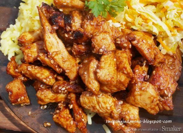 Pyszny Obiad Z Kurczaka