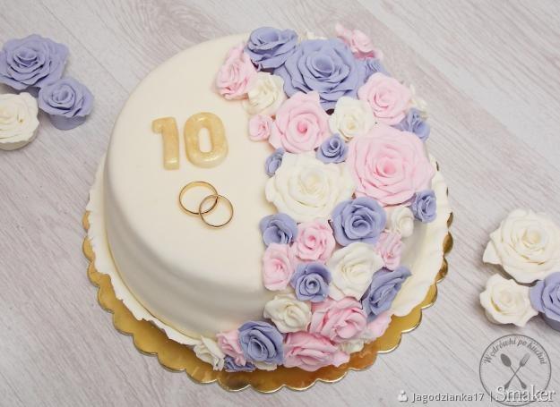 Tort Ajerkoniakowy Na Rocznicę ślubu