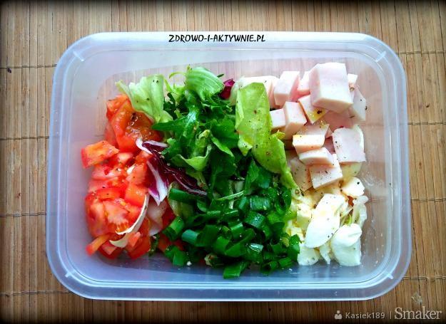 Salatka Sniadaniowa Bialkowo Tluszczowa Dieta Redukcyjna