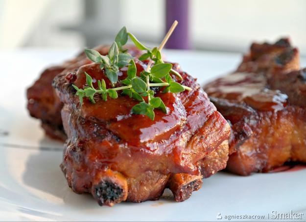 Żeberka barbecue BBQ