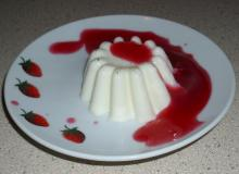 Panna cotta - light dukan