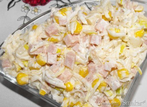 Salatka Z Selera Ananasa I Szynki Przepis Ze Smaker Pl