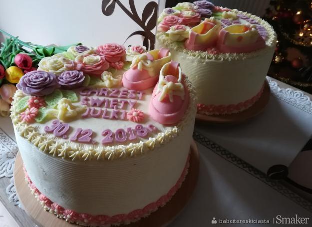 c55d3d50e0cd5b tort prostokatny na chrzest: Przepisy, jak zrobić - Smaker.pl