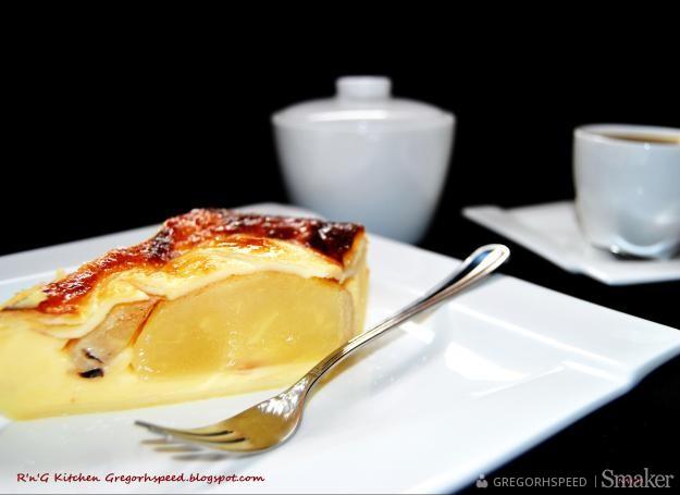 Francuskie Ciasto Gruszkowe