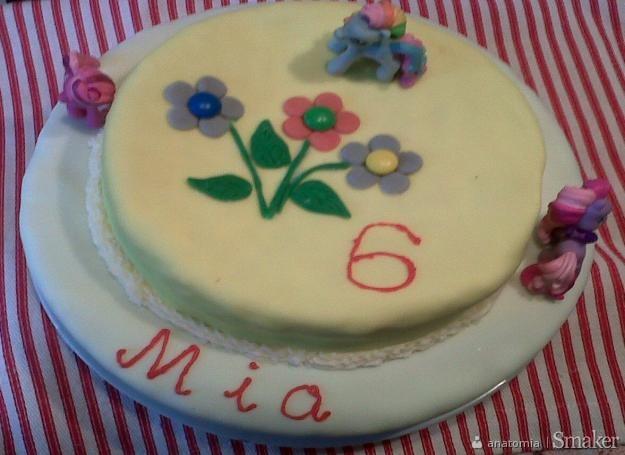 Dekoracja Tortu Urodzinowego Dla Dziewczynki