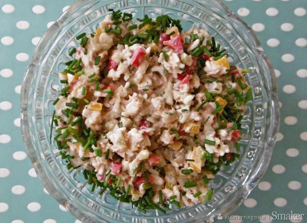 Salatka Z Tunczykiem I Ryzem Bez Kukurydzy Przepisy Jak Zrobic